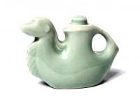 Unique Pale Green Camel Ceramic Sauce Holder