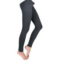 Gray Leggings Footless Tights
