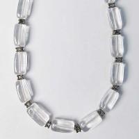Genuine Clear Quartz Nugget Necklace