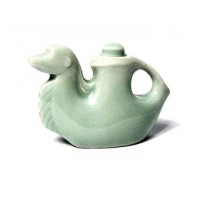 Unique Pale Green Camel Ceramic Sauce Holder
