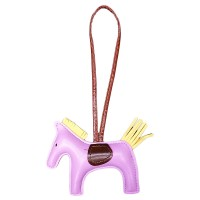 """H"" RODEO HORSEY BAG CHARM"