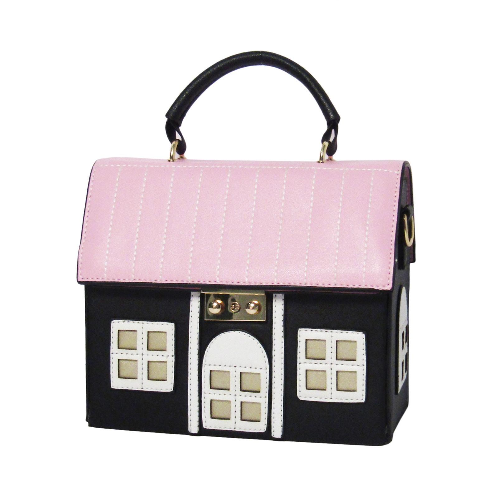 Inspired Pink Maison House Novelty Shoulder Bag