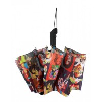 Multi Color Michelle Obama Magazine Print Umbrella