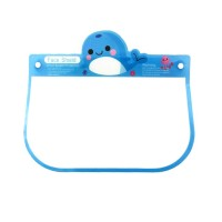 CUTE BLUE DOLPHIN PLASTIC FACE SHIELD FOR KIDS