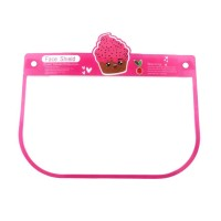 DELICIOUS PINK ICE CREAM PLASTIC FACE SHIELD FOR KIDS