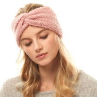 Pink Sherpa Fleece Earmuff Headband