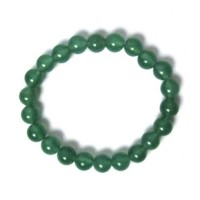 Handcrafted Genuine Green Quartz Beads Stretchy Bracelet