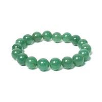 Tibetan Green Beads Stretchy Bracelet