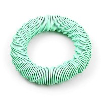 Mint Green Metal Wire Stretchy Bracelet