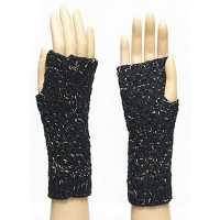 Multi-Metallic Fingerless Gloves
