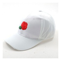 Gorgeous Hot Rose Satiny Statement Cap