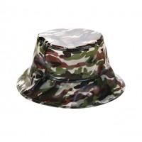 Camouflage Print Bucket Sun Hat