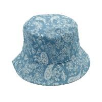Gorgeous Denim Blue Paisley Bucket Hat
