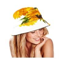 CHEERFUL SUNFLOWER BUCKET HAT