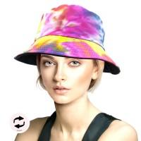 Gorgeous Mutli Color Tie Dye Bucket Hat