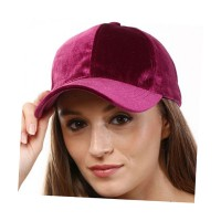 SOFT LUXE VELVET STATEMENT CAP
