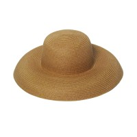 Khaki Bowler Style Straw-Hat