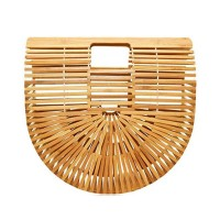 Handcrafted Bamboo Curve Case Bag