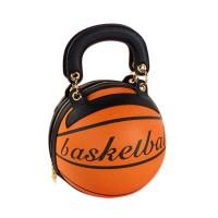 Fashion Brown Basketball Top Handle Shoulder Bag