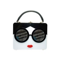 Inspired Sunglasses Top Handle Clutch Case Bag