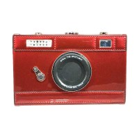 "Whimsical ""Say Cheese"" Camera Case Novelty Bag"