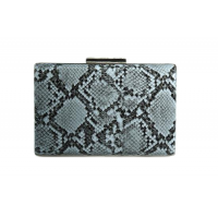 Gorgeous Snake Skin Case Purse Clutch Bag