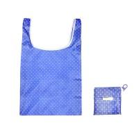 ECO FRIENDLY REUSABLE BLUE DOT CARRYALL SHOPPING BAG