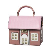Inspired Pink Maison House Novelty Shoulder Bag