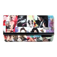 INSPIRED CELEBRITY MAGAZINE COVER CLUTCH PURSE BAG