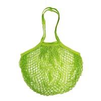 ECO FRIENDLY REUSABLE GREEN MESH NET CARRYALL SHOPPING BAG