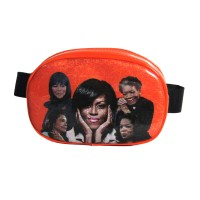 Orange Michelle Obama Fanny Pack Belt Bag