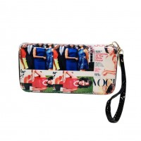 Multi Color Michelle Obama Wristlet Wallet