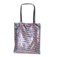 Daggling Multi Sequins Tote Bag