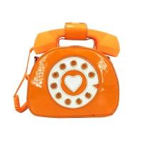 Inspired Orange Telephone Novelty Bag