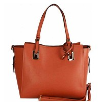 VIBRANT TWO IN ONE TOTE SATCHEL BAG