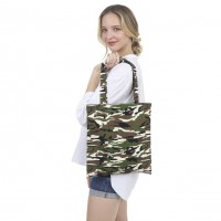 Camouflage Canvas Eco Bag