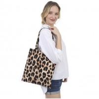 Big Leopard Canvas Eco Bag