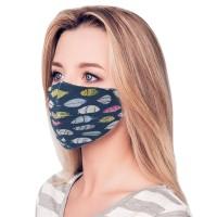 Stylish Feather 100% Cotton Fashion Mask