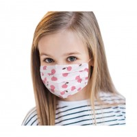 Red Apple 100% Cotton Kids Fashion Mask