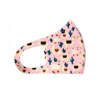 Little Bubblegum Pink Kids Fashion Mask