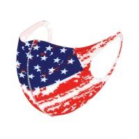 Stars And Stripes Patriotic America Flag Print Fashion Mask