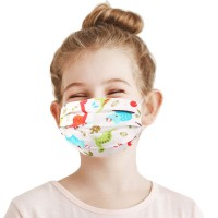 Dinosaur Print 100% Cotton Kids Fashion Mask