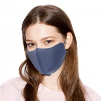 Classic Soft Solid Navy Fashion Mask