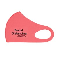 Pink Social Distancing Fashion Mask
