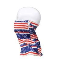 American Flag Print Face Tube Mask Scarf