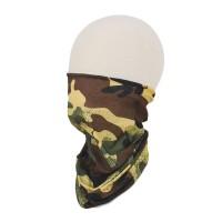 Camouflage Print Face Tube Mask Scarf Headband