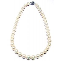 Cream Fresh Water Pearl Necklace