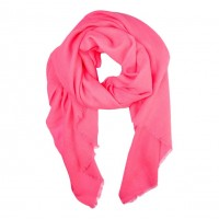 Vibrant Oversized Neon Pink Scarf Shawl Wrap