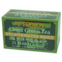 711TEA46 Foojoy Decaffeinated China Green Tea Teabag (100 teabags)