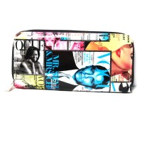 Magazine Cover Celebrity Wallet Wristlet Bag